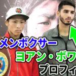 井上尚弥と対戦するイケメンボクサーヨアン・ボワイヨのプロフィール